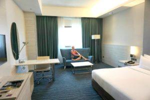 Sunway Putra, mukavin hotelli, jossa asuimme Kuala Lumpurissa
