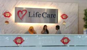 LifeCare -terkkulan vastaanotto. Ainoa paikka joka hoitaa terveystarkastuksia aussiviisumia varten KL:ssä