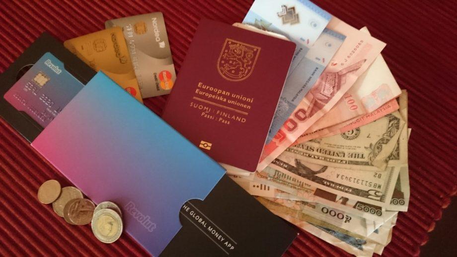 Kortti, käteinen, rahanvaihto? - Ethän maksa liikaa matkavaluutan käytöstä
