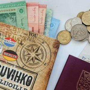 Rahan nostaminen ja vaihtaminen ulkomailla