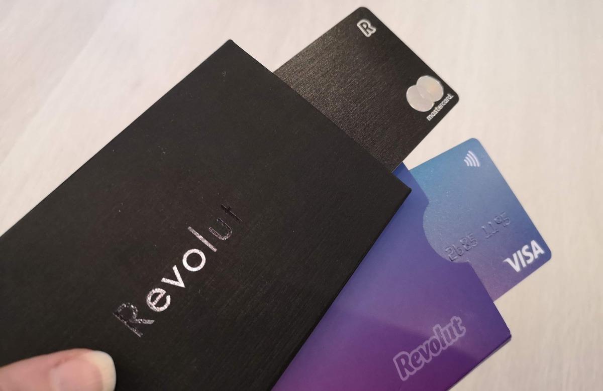 Revolut kortti standard premium prepaid