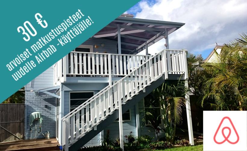 airbnb alennus matkaopas vapauteen
