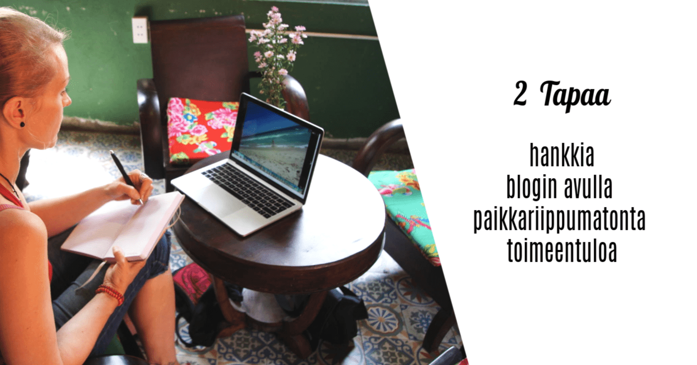blogitulot, yrittäjyys